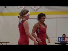 2016 Toronto Open FW48kg Farrantina Gatta (Brock) vs Christine Grafe (Western)