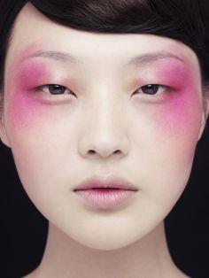 Pink eyeshadow // Makeup