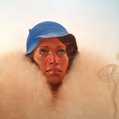 Kadirnelson Redbone (detail) at Richard J Demato Dine Art Gallery, NY