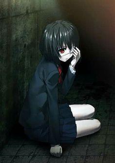 Another Misaki May Zoro, Another Misaki Mei, Vocaloid, Manga Art, Anime Art, How To Draw Anime Eyes, Anime Triste, Fanart, Another Anime