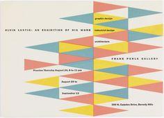 Alvin Lustig   Mid-Century Modern Graphic Design