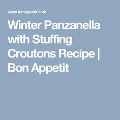 winter panzanella with stuffing croutons winter panzanella with ...