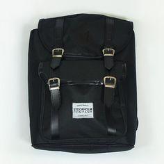 Fullblack bag. Mochila/morral ya disponible en nuestra tienda en línea Www.stkm.co #stkmcompany #yovistostkm #clothing #streetstyle #kichink #apparel #streetfashion #dope #urbanwear #stockholmco #backpack #bag