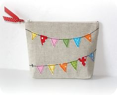 bunting - simple and happy