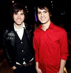 Ryan Ross and Brendon Urie