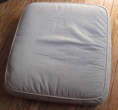 How To Recover Your Couch Cushions (part Of The How To Recover Your Couch)  So A While Back. As In 9 Months Ago!