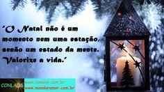 Bom dia, falta pouco para o Natal, gente querida!!! :)  Muita alegria para todos nós!!!  Beijos no coração!!! :)  INSCREVA-SE NO CONGRESSO CONLAÓS 3: http://www.conlaos.com.br/conlaos3  CURTA A NOSSA FANPAGE: http://www.facebook.com/conlaos  VISITE O NOSSO SITE: http://www.conlaos.com.br/blog  #conlaos #mandaramor #leidaatracao #poderdamente #poderdosubconsciente #autoconhecimento #mudancadeparadigmas #sairdazonadeconforto #osegredo #gratidao #comandosquanticos #eft #hooponopono