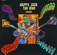 """""""Happy Jack"""" (1966, Decca) by the Who.  Their second US LP."""