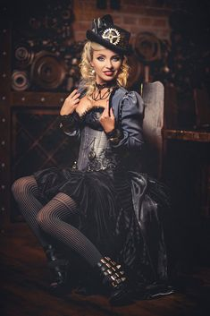 Steampunkopath — steampunktendencies:   Diana Lipkina.