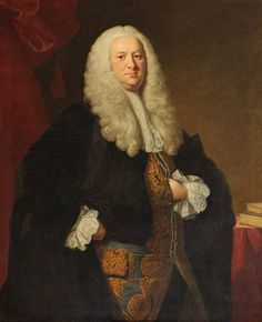 Legal Shy Hand! Judge William Noel (1695–1762) by Thomas Hudson