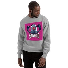 """Looking for something special to stand out from the crowd? This Champion sweatshirt with a bold print is your answer! The soft inside and embroidered """"C"""" logo on the left sleeve brings the sweatshirt to a whole new quality level, recognized worldwide thanks to the popular Champion brand • 82% cotton, 18% polyester • Crew neck • 1x1 ribbed knit cuffs and bottom band • 1x1 rib inserts at underarm and sides for extra mobility • Embroidered """"C"""" logo on left sleeve #sweatshirt #sweatshirts… Champion Sweatshirt, Crew Neck Sweatshirt, Graphic Sweatshirt, Champion Brand, Bold Prints, Underarm, Crowd, Cuffs, Popular"""