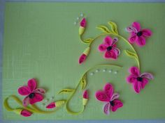 Quilling*flowers*pasja
