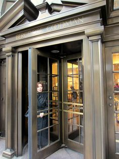 Bergdorf Goodman department store, 754 Fifth Avenue, New York City. December 16, 2011.