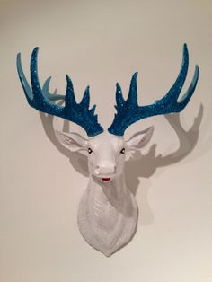 Stag head 'Sky', £45.00