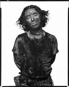 James Story, coal miner, Somerset,  Colorado, December 18, 1979; Photographer: Avedon