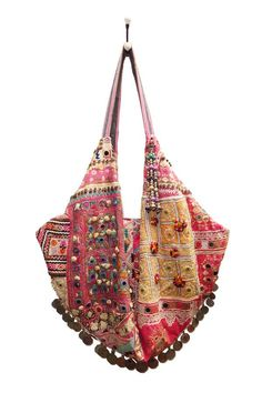 mocoa | Simone Camille.com, red, bag, purse, boho, ethnic, textile