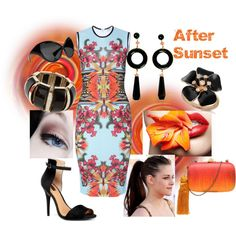 After Sunset, created by ybello75 on Polyvore