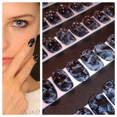 Nail designs for Opening Ceremony S/S 2015 were created in collaboration with celebrity nail artist Naomi Yasuda. We love this look. #CNDforOpeningCeremony #CNDatFashionWeek #NYFW