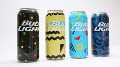 Here's How Bud Light Designed 200,000 Different Cans for the Mad Decent Block Party | Adweek