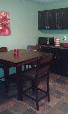 Benjamin Moore 444 Cedar Grove..  love the color in my kitchen!!