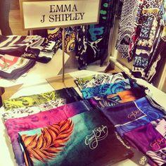 Emma J Shipley #scarf #emmajshipley #silk #print #london #designer