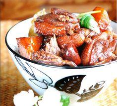 Potato and Duck Stew Recipe Duck Stew Recipe, Potato Stew Recipe, Goose Recipes, Duck Recipes, Authentic Chinese Recipes, Easy Chinese Recipes, Goulash, I Love Food, Good Food