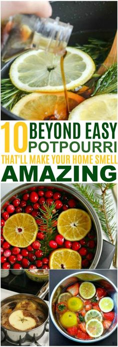These 6 Scent Hacks Will Have Your Home Smelling AMAZING! I love all the differe. These 6 Scent Hacks Will Have Your Home Smelling AMAZING! I love all the different combinations. These are perfect for holiday get togethers! Source b. Homemade Potpourri, Simmering Potpourri, Stove Top Potpourri, Potpourri Recipes, House Smell Good, House Smells, Room Scents, Hacks, Diy Décoration