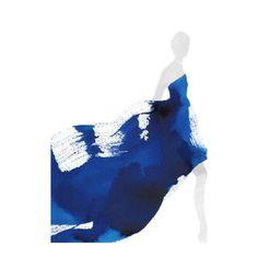 indigo 🎨 Fashion illustration by Aurore De La Morinerie Art And Illustration, Watercolor Fashion, Fashion Sketches, Fashion Illustrations, Illustration Fashion, Art Graphique, Grafik Design, Art Plastique, Fashion Art