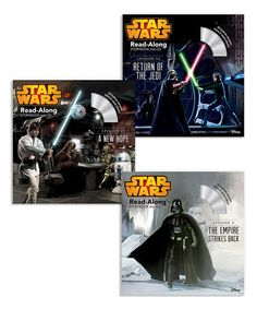 Love this Star Wars Classics Read-Along Storybook & CD Set by Star Wars on #zulily! #zulilyfinds