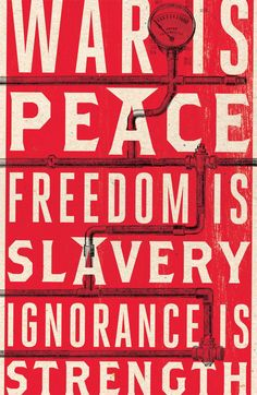 George Orwell's 1984 -- Published in 1948, the classic novel exploring life In A Surveillance Society.