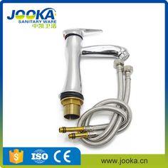 China sanitary ware wholesale chrome short handle wash basin water tap