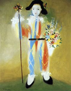 Picasso, I love the Harlequins