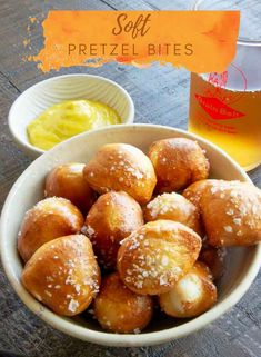 Soft pretzel bites have the chewy fluffy inside you love in a soft pretzel! Make them for tailgating, parties or just as a snack! Made in the air fryer so you can have them super fast! (oven alternative too!) Appetizers For A Crowd, Easy Appetizer Recipes, Healthy Appetizers, Vegan Meals, Vegan Recipes, Snack Recipes, Snacks, Homemade Pretzels, Soft Pretzels