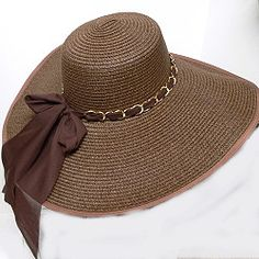 0c76275c3fe WOMENS SUMMER FLOPPY HAT--these summer hats have a 6 inch brim with just