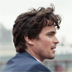 I gaze at him. He looks so wickedly tempting— unkempt, recently fucked hair, dark eyes dancing with erotic thoughts, that beautiful sculptured mouth, lips raised in a sexy, amused smile.    -Fifty Shades Darker-    matt bomer = christian grey fb page