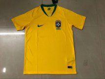 www.ckess.es 14.5€ Camisetas De Fútbol Equipos Nacionales   Camiseta De Futbol De Brazil 2018-2019 Casa Amarillo FT18971