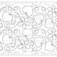 Hearts In Bloom - Timeless Quilting