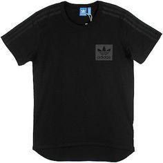 Adidas Street Essentials Tee Mens AJ7879 Black Cotton Crewneck T-Shirt Size 2XL