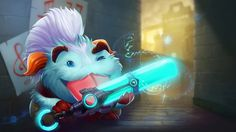 Download Ekko Poro Wallpaper UHD 4K 3840x2160