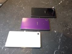 New Xperia Z1 is avaliable in 3 colors... For more detail read more by clicking the link below....