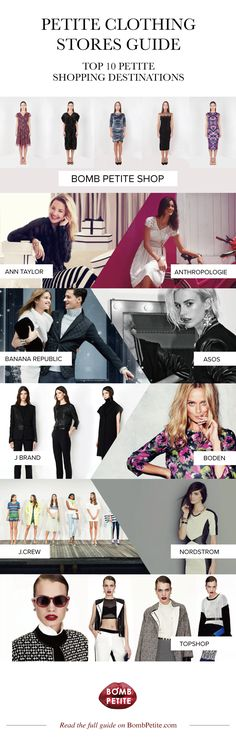 Petite clothing stores guide: the best shopping destinations for petit women