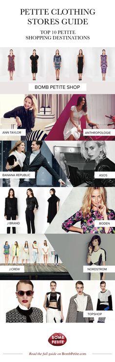 ec438c7115c Petite clothing stores guide  the best shopping destinations for petite  women