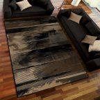 Orian Rugs Artistic Smear Black Area Rug