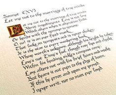 Sonnet 116 by William Shakespeare  via http://thefrothingwavevat.blogspot.com/
