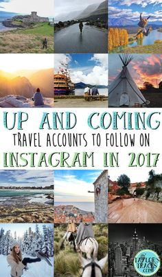 Need some travel inspiration for the new year? Find some of the best travel accounts to follow on Instagram!