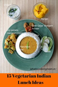 15 Vegetarian Indian Lunch Ideas - whats cooking mom