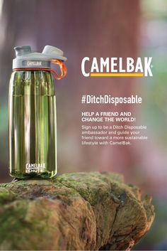 Help a friend and change the world! Most CamelBak fans have already made the decision to reuse. But to make the biggest impact, we can encourage our friends to join us. Also, have you seen the @CamelBak Relay filtered pitcher?! Making it easier than ever to #DitchDisposable