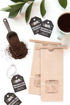 Grounds for Celebration: Coffee Wedding Favors