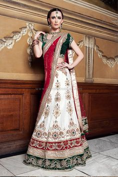 Vintage Wedding Dresses Indian Bridal Lenghas Lengha Choli Asian