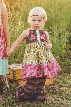 KNOT dress/ RASPBERRY RENEE knot dress/ fall dress/ 12 mo - 5t on Etsy, $36.00